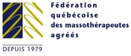 Logo FQM - Fédération québécoise des massothérapeutes agréés